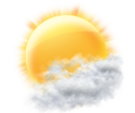 13 °C Mostly Cloudy